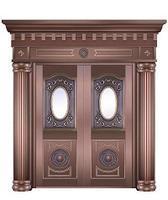 西安仿古铜门制作安装西安铜门厂家