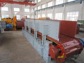 矿山开采专用板式给料机