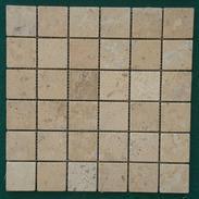 亚光+滚磨米黄洞石马赛克SLMM001-048-TY