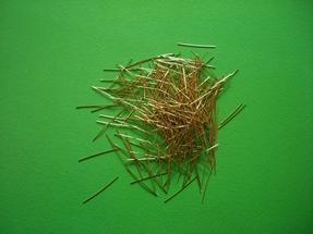 供应肇庆镀铜微丝钢纤维/佛山镀铜微丝钢纤维