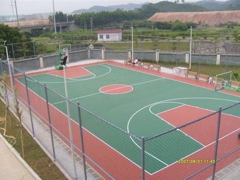 天津塑胶篮球场 铺装 天津塑胶网球场 铺装 施工