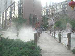 山西楼盘人造雾