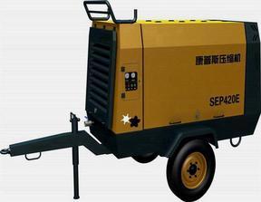 康普斯SDP250E双螺杆移动式空气压缩机(施工专用)