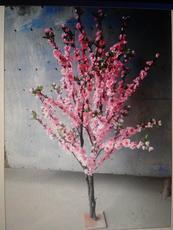 玻璃杆仿真桃花树室内高仿真桃花树 特价仿真桃花树