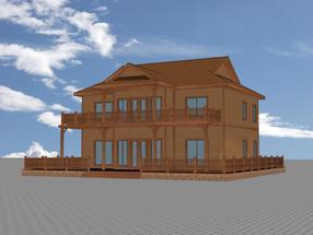 上海木屋木别墅设计建造|合肥世林木屋木结构房屋有限公司