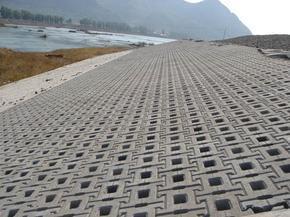连锁型护坡砖