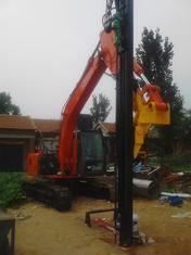 挖机改液压凿岩机