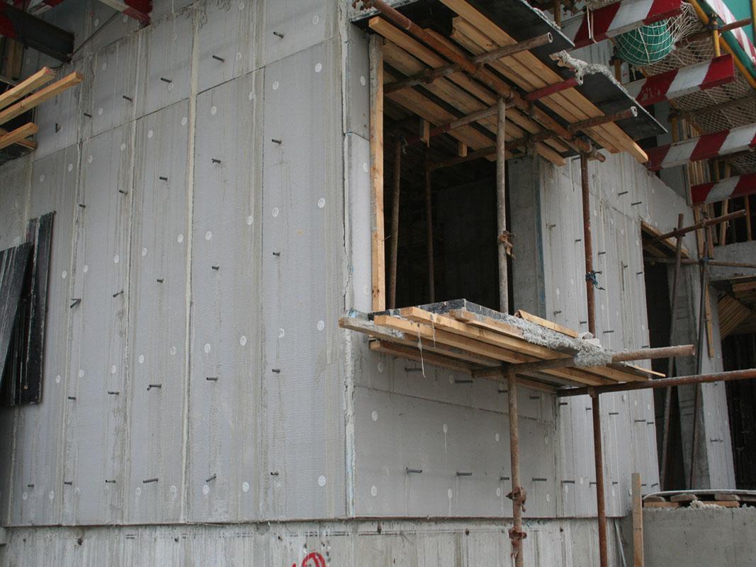 双复合fs建筑保温模板生产设备先进工艺流程