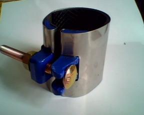304不锈钢补漏器 管道抢修件 不锈钢管道哈夫节