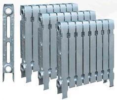铜铝复合75*75*600mm暖气片散热器