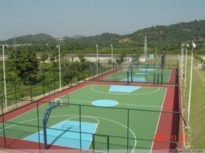 天津硅PU篮球场施工建设-硅PU面层施工方案