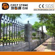 芝麻灰花岗岩蘑菇石墙石