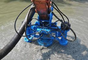 挖机液压式泥沙泵