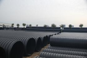 HDPE钢带增强螺旋波纹管DN300-DN2800