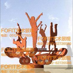 我想富菲特铁艺雕塑是比较好的创意生产厂家了!