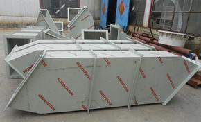 废气吸收塔管道、塑料风管安装