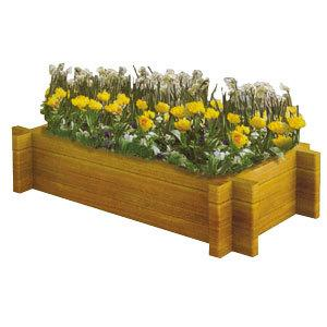 花盆 方形花盆 木质花盆