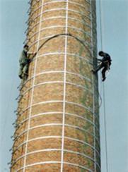 烟囱打抱箍施工技术及措施