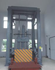 三缸四柱垂直式垃圾压缩设备