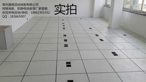 河南信阳不二之选防静电通风地板配备机房地板
