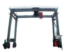河南矿山 轮胎式集装箱门式起重机 厂家直销 矿源