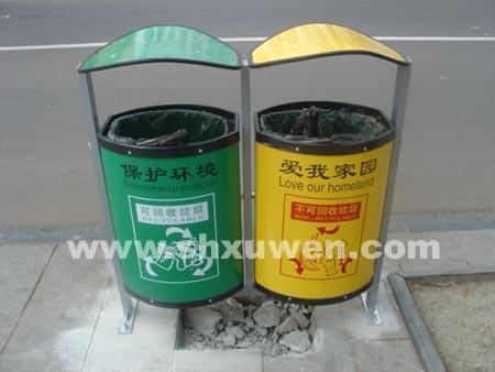 xb4-011钢结构分类垃圾桶