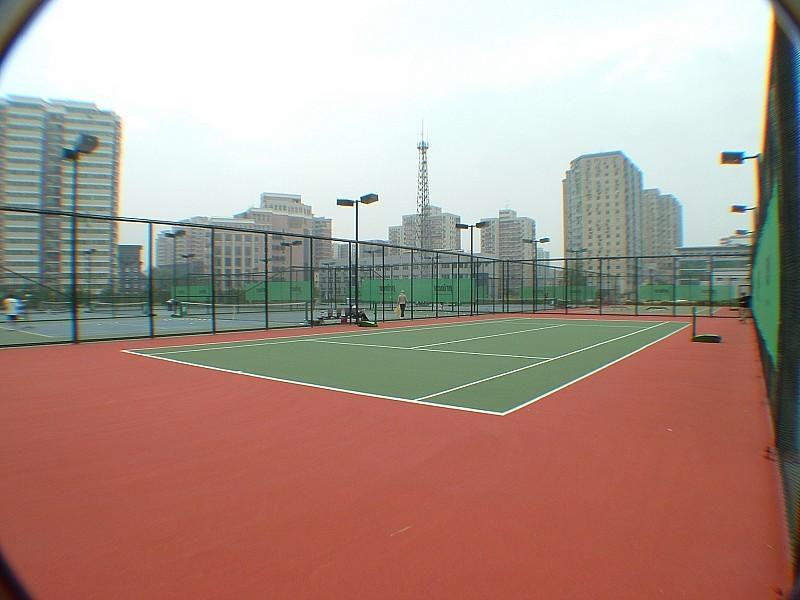 建设网球场,排球场,篮球场,羽毛球场的设计方案