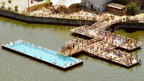 亲水平台,水上景观平台,水上建筑工程