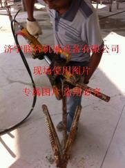 供应手提桩基桩头钢筋调直弯曲用折弯机
