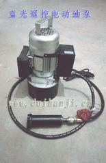 蓝光钢筋气压焊机遥控电动加压油泵