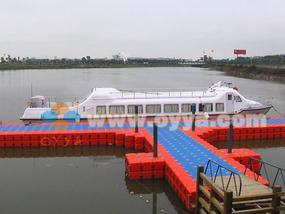 浮筒式游船码头双层浮筒码头