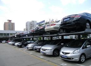 优泊牌房地产商用双层地下立体停车设备PJS2D-JH-T