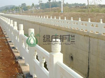 仿石桥梁栏杆,河道护栏,桥梁护栏,水利工程 面议 仿木护栏,石木栏杆