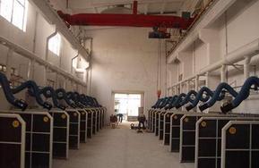 供应威海日照济宁多工位焊接烟尘净化装置