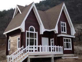 碳化木木屋木别墅