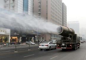扬程50米降尘除霾雾炮机