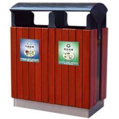 """更多""""钢木清洁箱钢木垃圾桶钢木分类垃圾桶"""