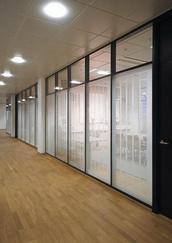 北京108款内钢外铝玻璃隔断