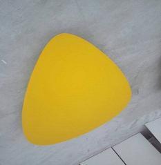 厂家直销玻璃棉基材板 玻纤天花板材料 悬挂吸声体锤片挂件批发