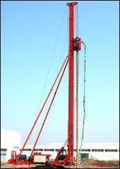 CFG长螺旋工程钻机结构及工作原理