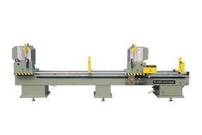 山东厂家供应铝塑型材数控双头切割锯床—最专业的门窗检测设备厂家
