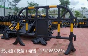 道路施工护栏塑料护栏塑料铁马施工围栏施工水马黑色