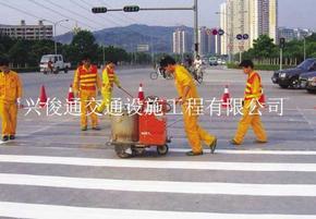 深圳道路划线,专业道路划线,深圳车道标线