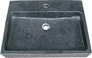 砚墨黑黑色石灰石浴室盆SINK 171M