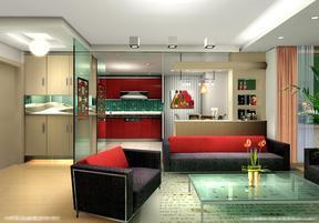 现代式家装室内设计效果图