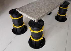 供应水景石材支撑器 木塑地板龙骨支撑架 万能支撑器