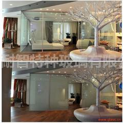 特种玻璃液晶玻璃魔法玻璃电控通电雾化玻璃魔术玻璃调光玻璃