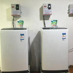 共享洗衣机 企业宿舍学生公寓投币洗衣机安装
