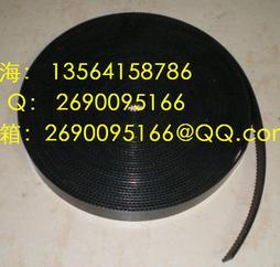 T5防静电同步带  进口黑色防静电同步带