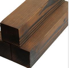 碳化木户外地板